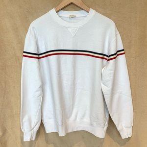 Urban Outfitters Crewneck Striped Sweatshirt